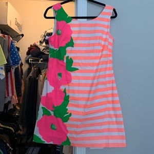Fun neon Lilly Pulitzer shift dress
